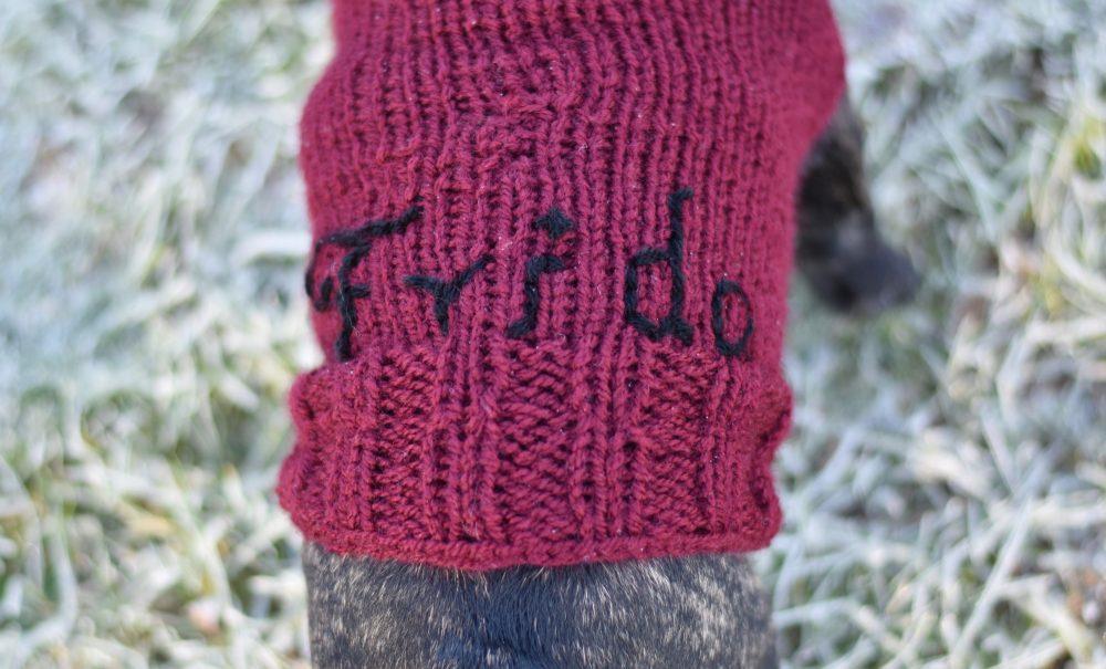 Strickpulli Frida DIY