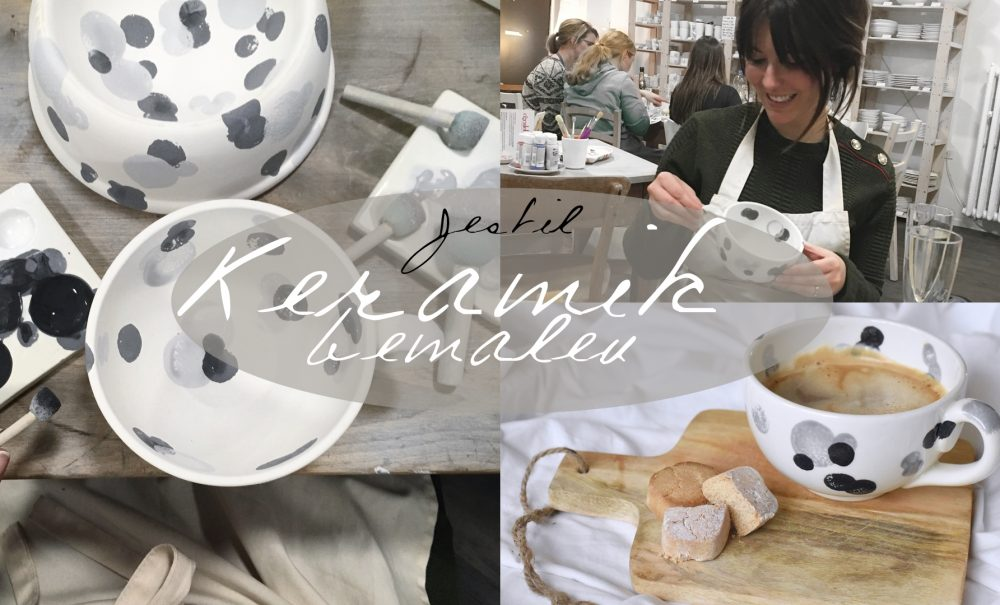 Keramik bemalen (Follow me around)