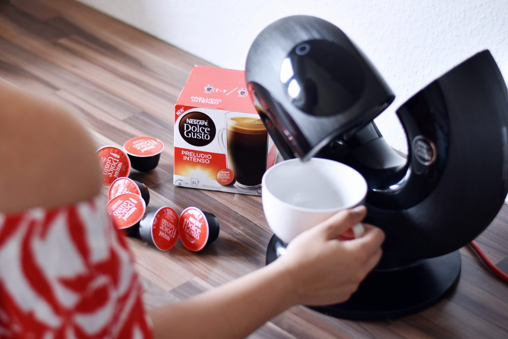 Fotobearbeitung mit Nescafé Dolce Gusto