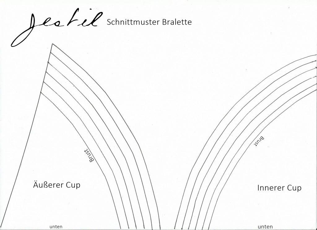 Schnitt Bralette - Jestil