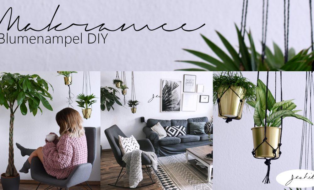Makramee Blumenampel DIY